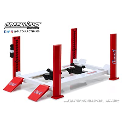 Greenlight 1:18 Four-Post Lift - Summit Racing Equipment 13549: Toys & Games