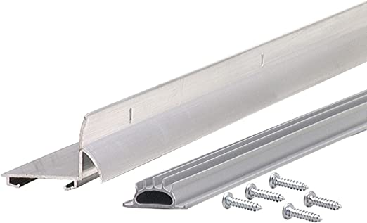 M-D Building Products 48998 M-D L-Shape Door Bottom 1-3//4 in W X 36 in L X 1.59 in H Grey
