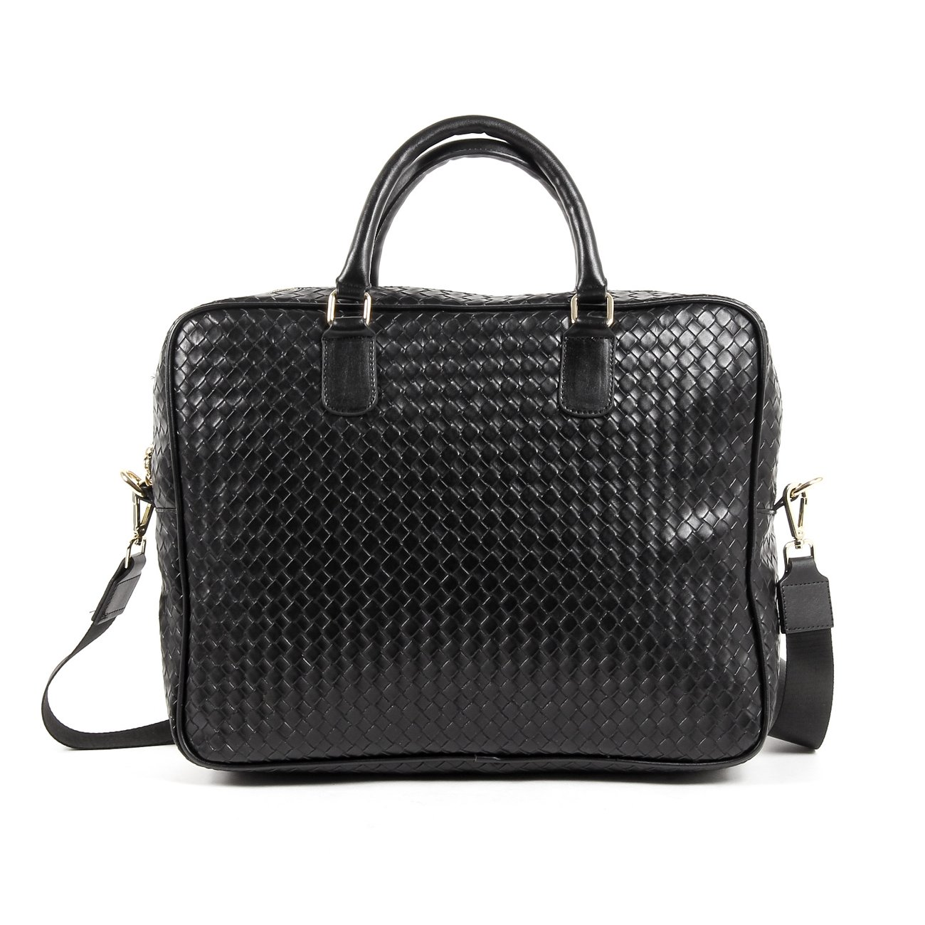 4b53f663f08c V 1969 Italia Mens Bag V1969019B BLACK  Amazon.co.uk  Shoes   Bags