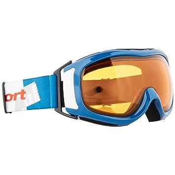 Ultrasport Gafas de Esquí y Snowboard con Doble Lente, Unisex Adulto, Azul/Blanco/Naranja, Talla Única: Amazon.es: Deportes y aire libre