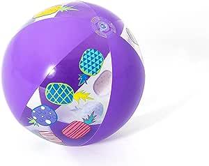 كرة شاطئ بطبعة اناناس من بيست واي 31036 - ارجواني