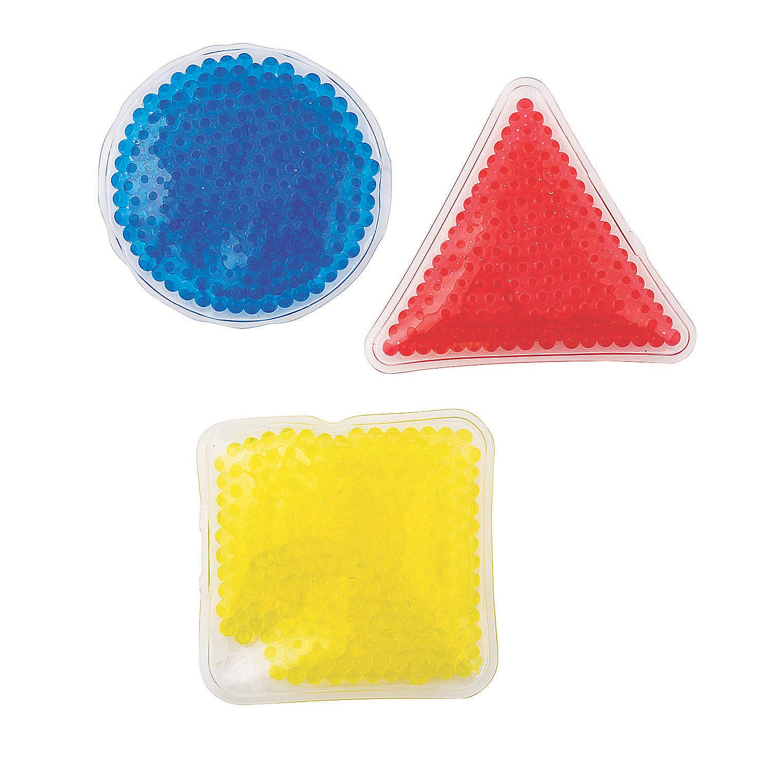 Fun Express Gel Bead Sensory Shapes (3 Different Shapes and Colors) - Educational Teaching Aids by Fun Express