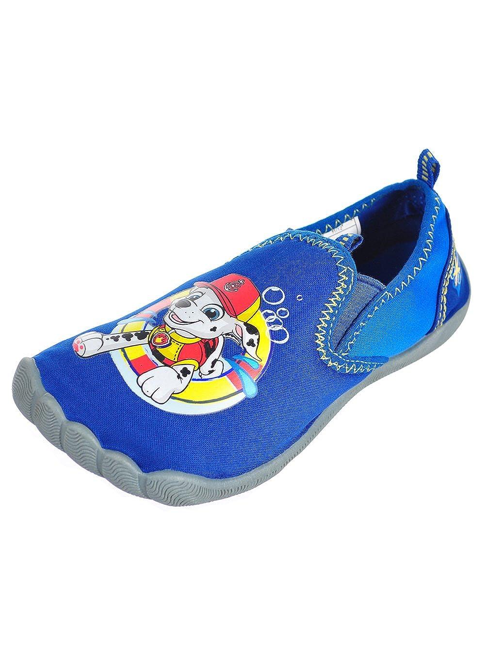 Josmo Kids Boys Paw Patrol Aqua Sock Low Top Slip On, Blue 1, Size 11-12 Kids