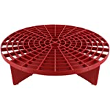 The Grit Guard Insert (Red) - Fits 12 inch Diameter Bucket