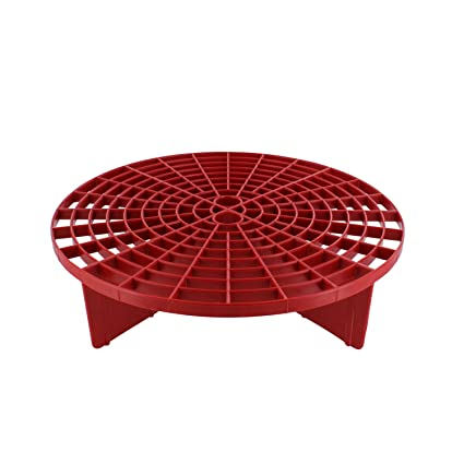 The Grit Guard Insert Red Fits 12 Inch Diameter Bucket Amazon