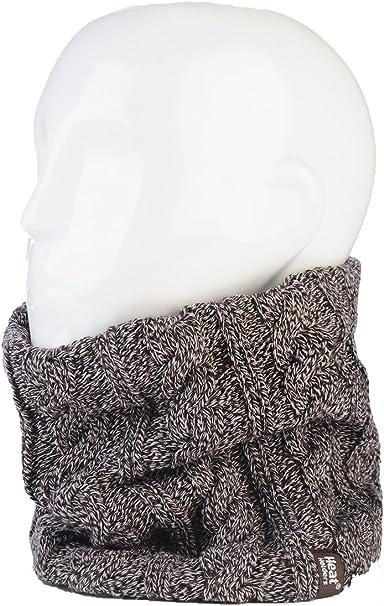 4 Piezas Calentadores de Cuello de Invierno Bragas de Cuello T/érmico Bufanda Infinito de Forro Polar Bufanda Circular de Esqu/í a Prueba de Viento para Adultos Tejido de Doble Capa