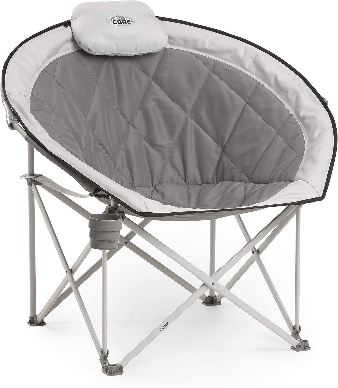 Core Equipment Folding Oversized Round Moon Chair