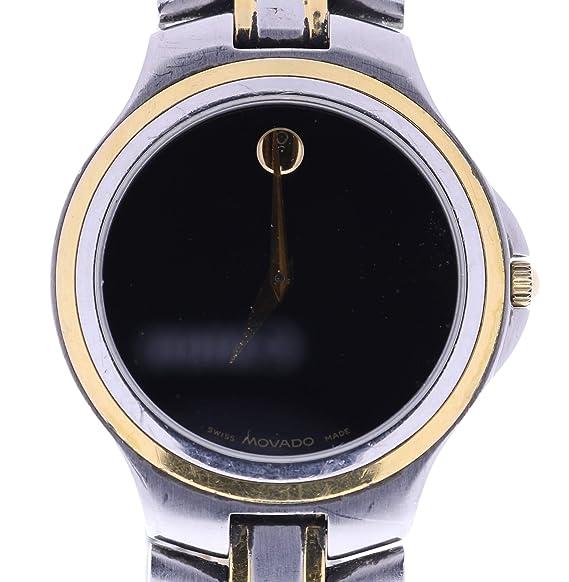 Movado Museo cuarzo Mens Reloj 4228822 (Certificado) de segunda mano: Movado: Amazon.es: Relojes