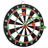 "18"" Official Size Dartboard & 6 Darts"