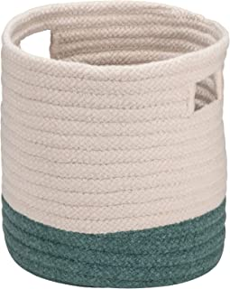"""product image for Colonial Mills Cortland Basket, 16""""x16""""x18"""", Teal"""