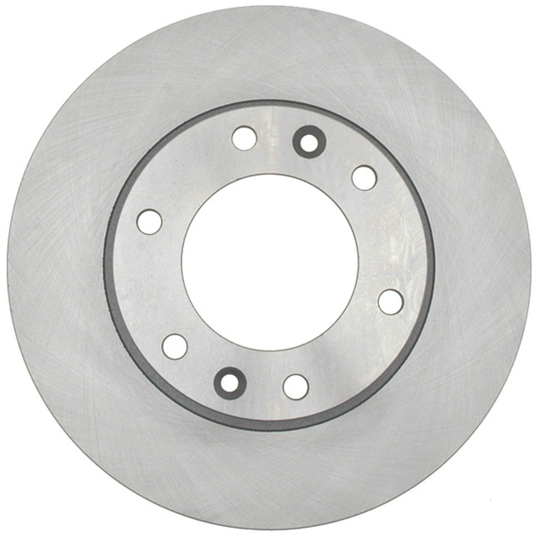 ACDelco 18A2421A Advantage Non-Coated Front Disc Brake Rotor