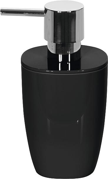 polistirene Spirella 1018245/Pure Dispenser di Sapone Accessori per Il Bagno Nero 15/x 7.5/x 7.5/cm