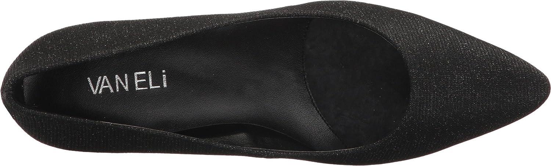 VANELi Womens Hattie B01N5NSCCW 7 W US|Black Glassy Fabric