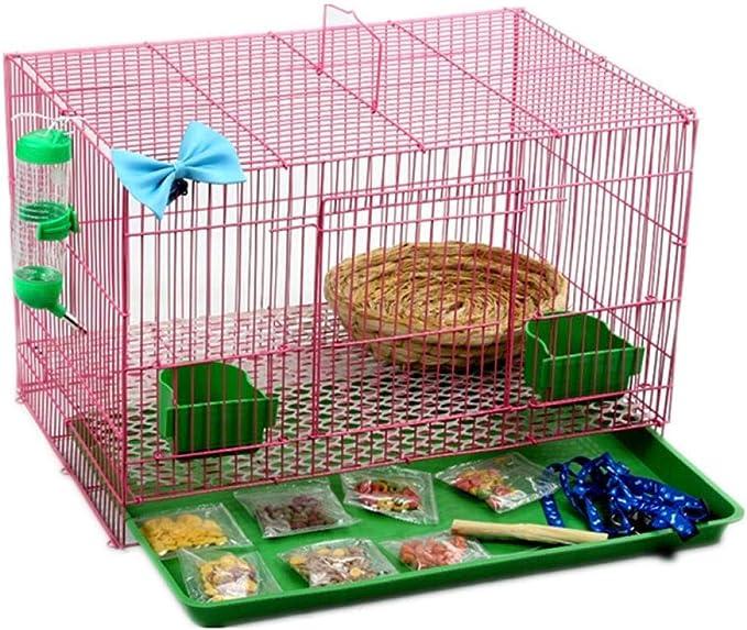 MJBABY Jaulas de Conejos, Villas, cría de nidos comunes, Ardillas, cuyes, Cerdos holandeses, jaulas-XL (Juego de 16 Piezas)
