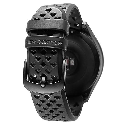 19d62bc24cf08 New Balance RunIQ Smartwatch, Silver, One Size