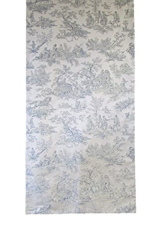Corona Decor Extra Wide Italian Woven Table Runner, 95 By 26 Inch,