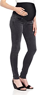 product image for James Jeans Women's Twiggy External Maternity Band Legging Jean in Slate Ii