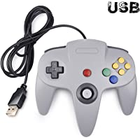 Classic N64 Controller, iNNEXT N64 Wired USB PC Game pad Joystick, N64 Bit USB Wired Game Stick Joy pad Controller for…