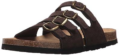 Womens Andara Sandal,Brown,6 M US Northside