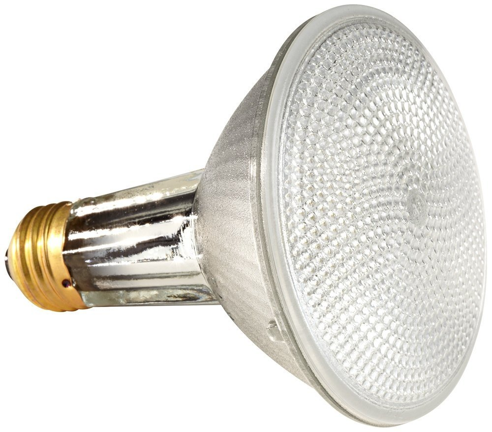 (10 Pack) Osram Sylvania 16168 - 60 Watt PAR30 Wide Flood Reflector Light Bulb by Sylvania (Image #1)