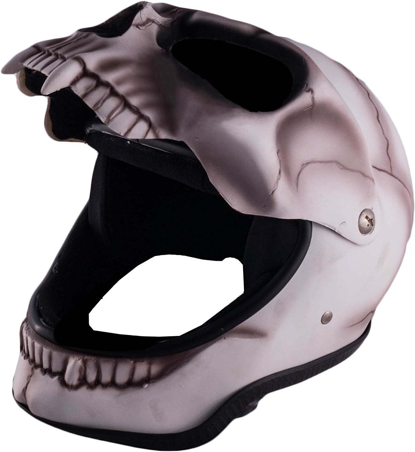 Unbekannt Casque Deko Casque Skull nicht Fun T/ête de mort Casque Skullhead gru/ß elig