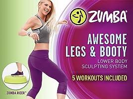 Amazon.co.uk: Watch Zumba Awesome Legs & Booty System