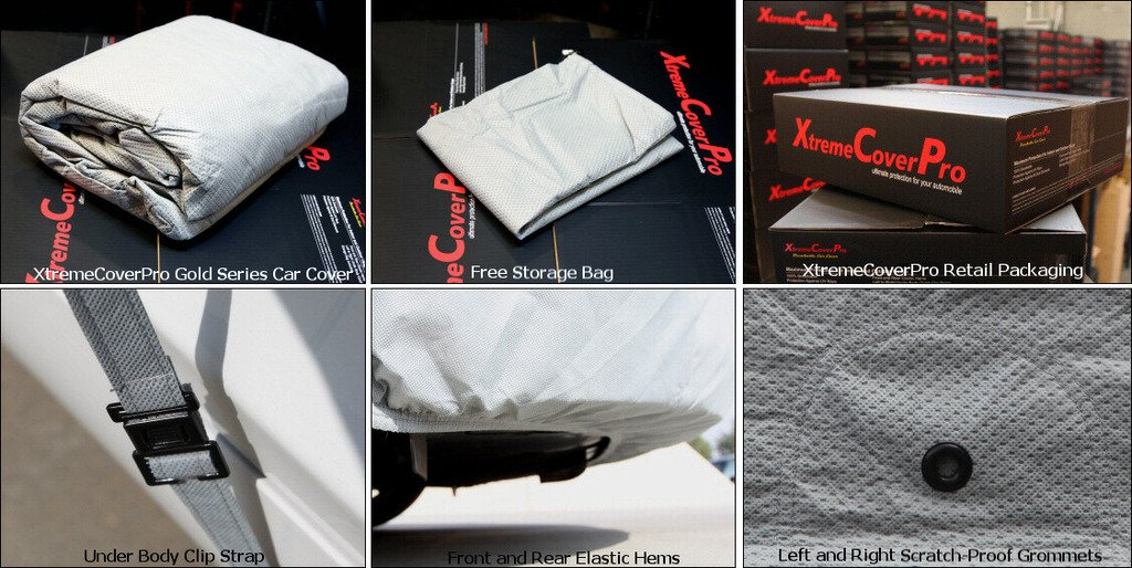 Waterproof Fabric Indoor//Outdoor Protection XtremeCoverPro Car Covers Ready fit for Audi S8 Plus 2004~2017 UV Resistant Vehicle Accessories