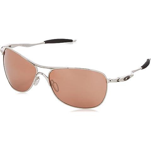 cd48948237 Amazon.com  Oakley Mens Ti Crosshair OO6014-02 Polarized Oval ...