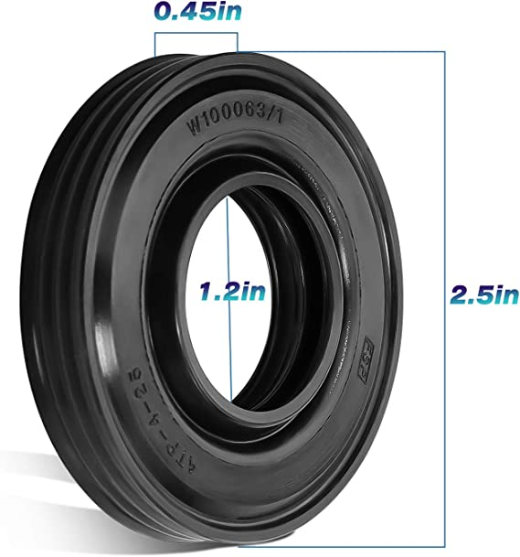 Details about  /*BRAND NEW* 21001868 OEM Whirlpool Washer Tub Seal 1-Year Warranty