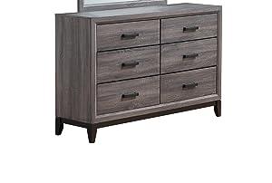 Global Furniture USA FOIL Grey-D Kate Dresser