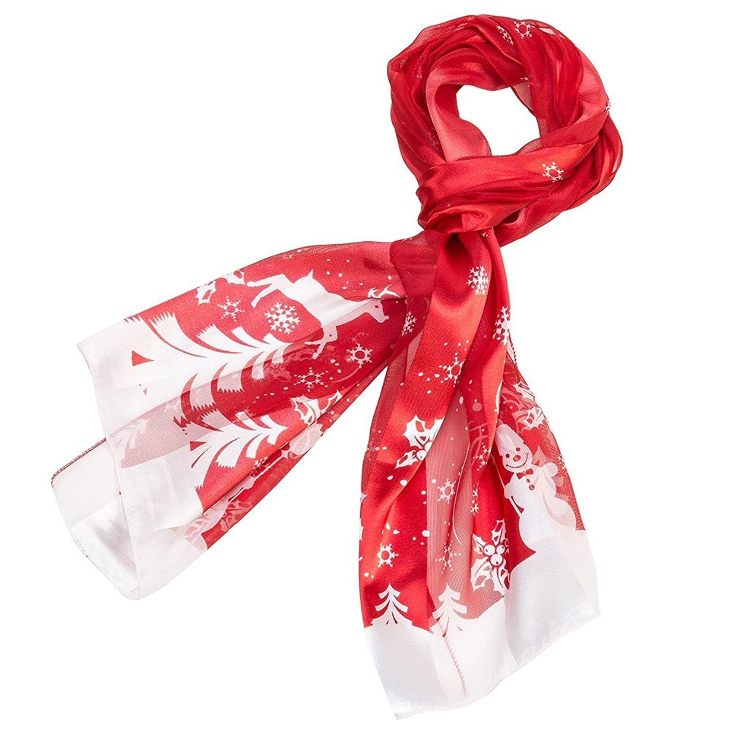 Christmas Scarf  - Winter Red