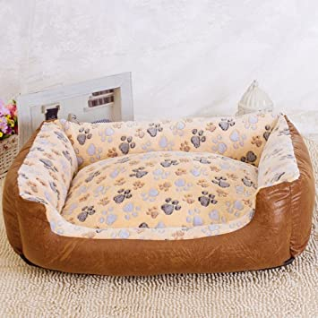 Dixinla Pet bed Cotton can be washable waterproof kennel dog mat