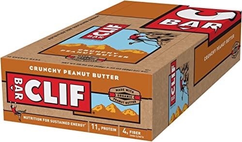 Clif Bar Energy Bar Crunchy Peanut Butter – 12 Bars