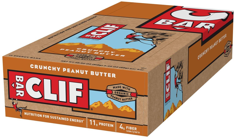 Clif Bar Energy Bar Crunchy Peanut Butter -- 12 Bars by Clif Bar