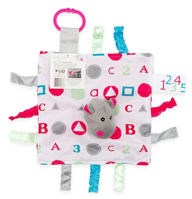Amazon.com: Bebé Jack 10 x 10 Sensory Aprendizaje Lovey ...
