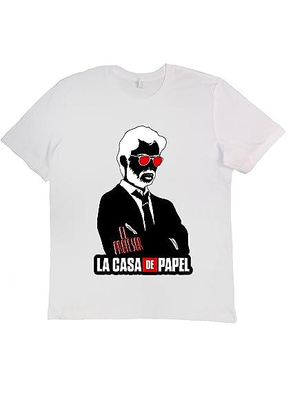 Camiseta La casa di Carta (La casa de Papel) Il PROFESSORE ...