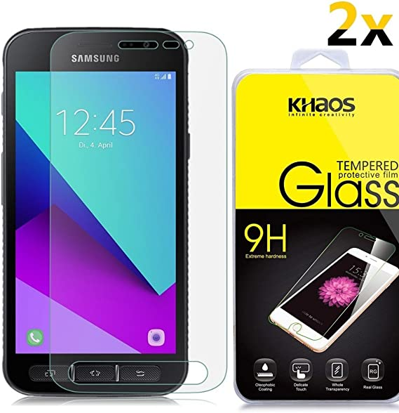 Amazon.com: [2-Pack] for Samsung Galaxy Xcover 4 Screen Protector ...