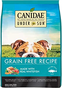 CANIDAE Under The Sun Grain Free Adult Dog Food With Whitefish 4lbs