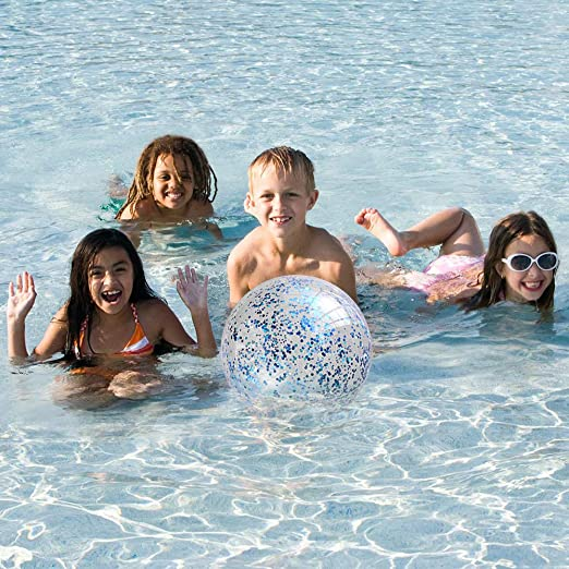 Swimming Ring Floats Blue Feather Swim Ring Giant Inflatable Tropical Heart-Shaped Pool Float Summer Lounge Raft Swim Party Toy