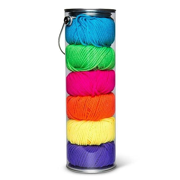 Amazon.com: Fair Isle Yarn Liberty Craft Colors, Pacific
