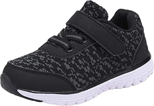 New Boys Tennis Shoes  Athletic Sneakers Youth Kids Strap Skater New Size 10-4