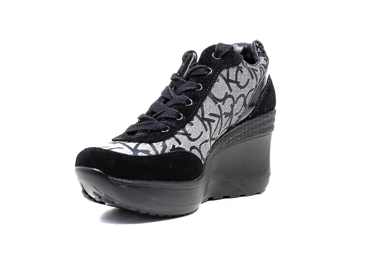 Calvin Klein Jeans RE9648 Sneakers Scarpe Donna Casual Sportive Zeppa (40)   Amazon.it  Scarpe e borse a4bde1884da