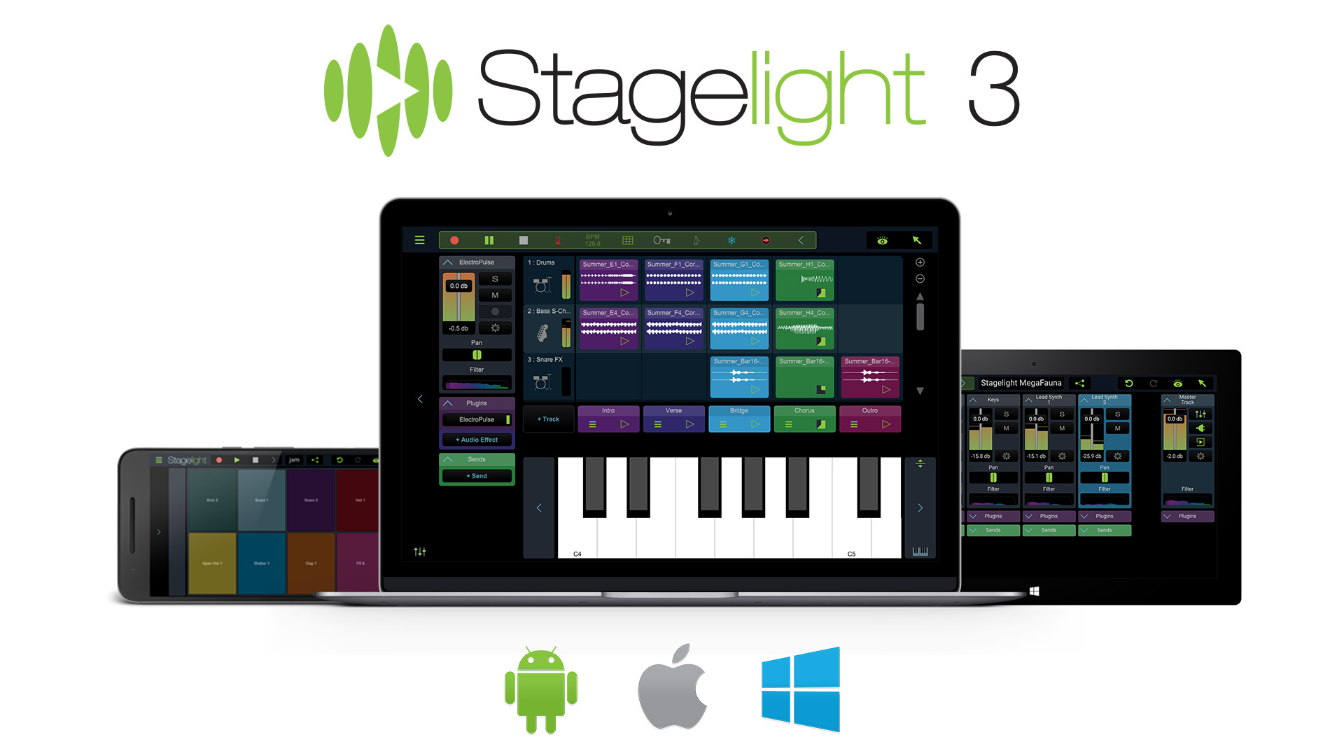 - Stagelight: Core edition - Audio and Midi DAW [Download]