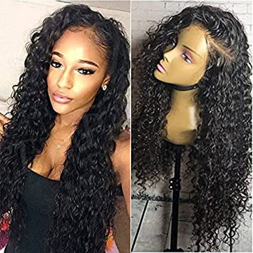 Amazon Com Jolitime Loose Curly Wigs Long Hair Synthetic Lace