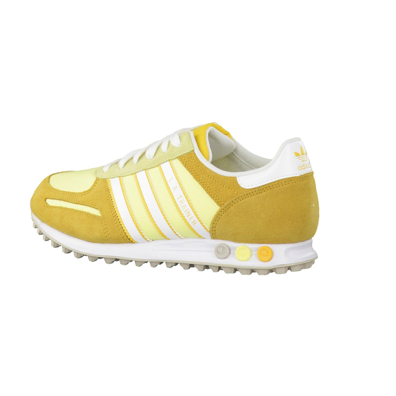 ADIDAS LA Trainer Sneaker Scarpa Ginnastica 100% Original D65503 Yellow