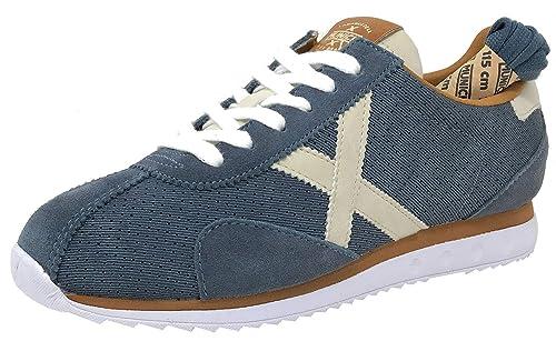9cc8592fd11d6 Munich Sapporo 46 Azul Zapatilla Hombre  Amazon.es  Zapatos y complementos
