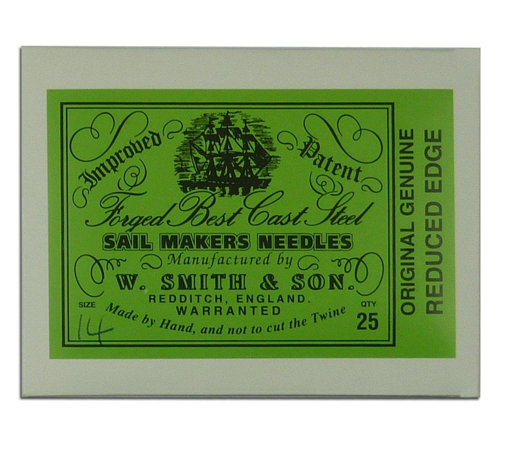 Wm. Smith & Son 25-pk of #14 Sailmakers' Needles 4337007855