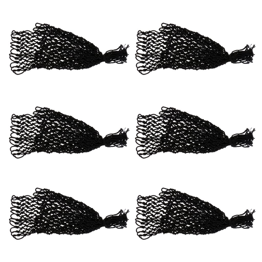 Jili Online Durable 6 Pieces/Set Pool Snooker Pockets Mesh Billiards Table Nets Bag Parts