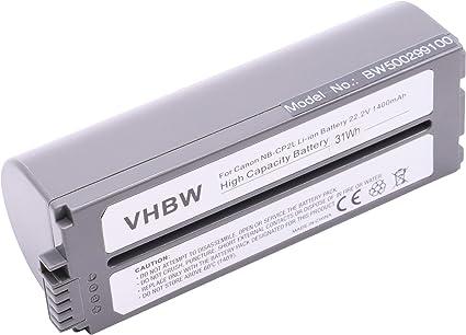 Vhbw Batterie Compatible Avec Canon Selphy Cp 100 Cp 1000 Cp 1200 Cp 1300 Cp 200 Cp 220 Imprimante 1400mah 22 2v Li Ion Amazon Fr Informatique