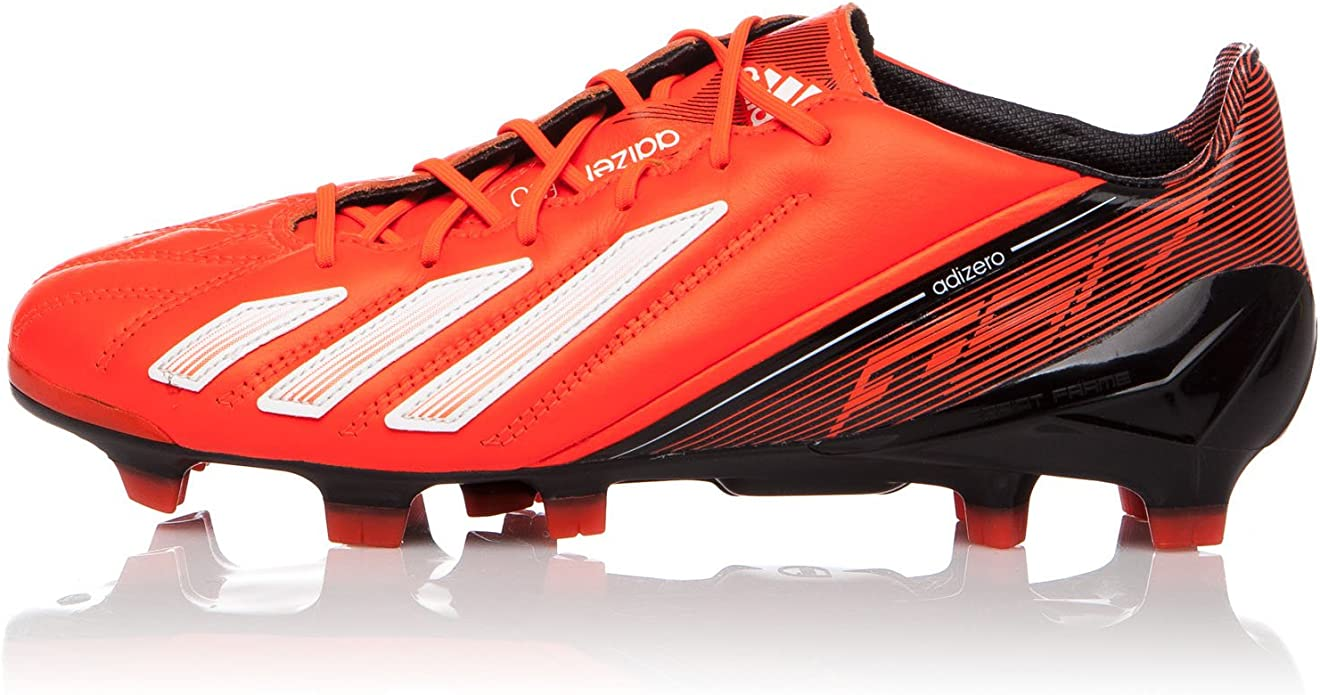 adidas Zapatillas de fútbol Adizero F50 TRX FG Lea Negro ...